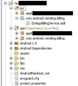 In app billing solution