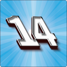 Fourteen game icon